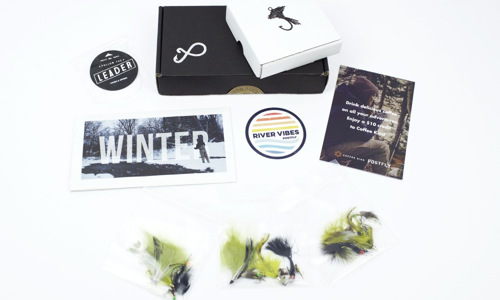 Past Boxes: January Fly Fishing Subscription Box