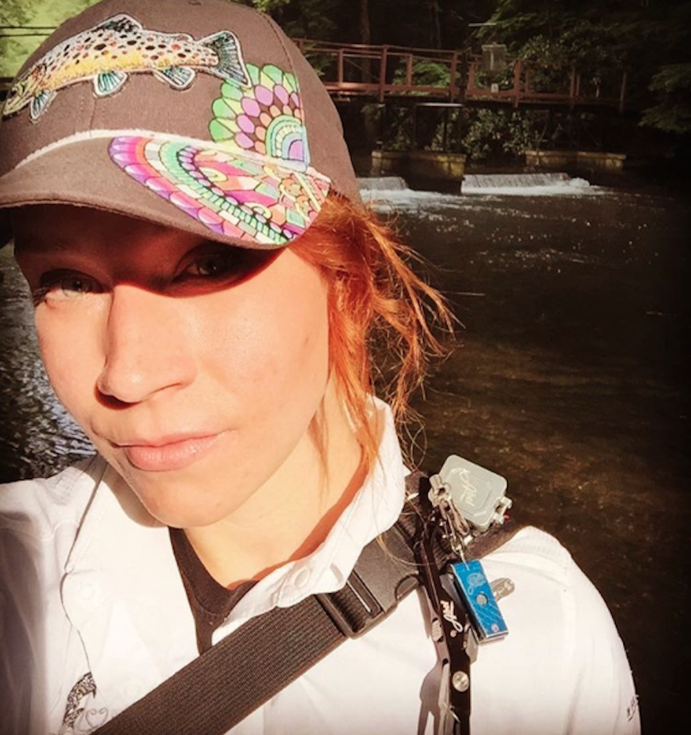 A Day In The Life Of A Fly Fishing Artist