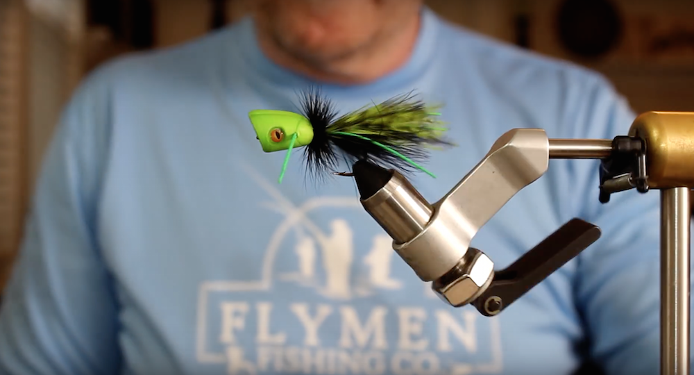 VIDEO: How To Tie The Surface Seducer Double Barrel Popper