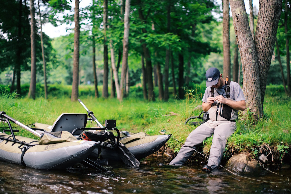 How Do You Start Fishing When You First Get To A New River?