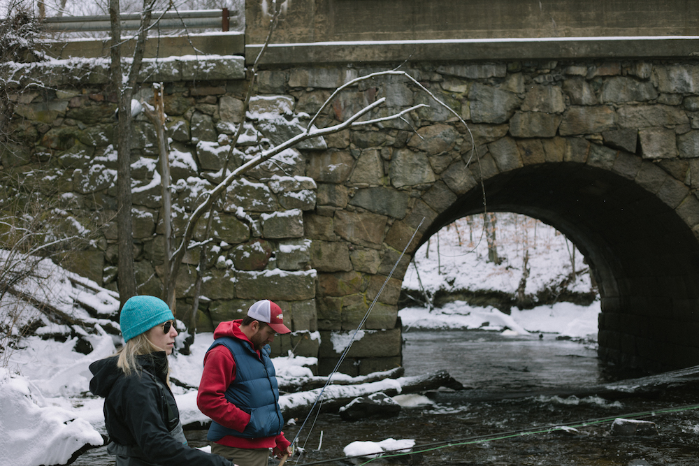 Fish Food 101: How to Tell What Trout Are Eating in the Winter