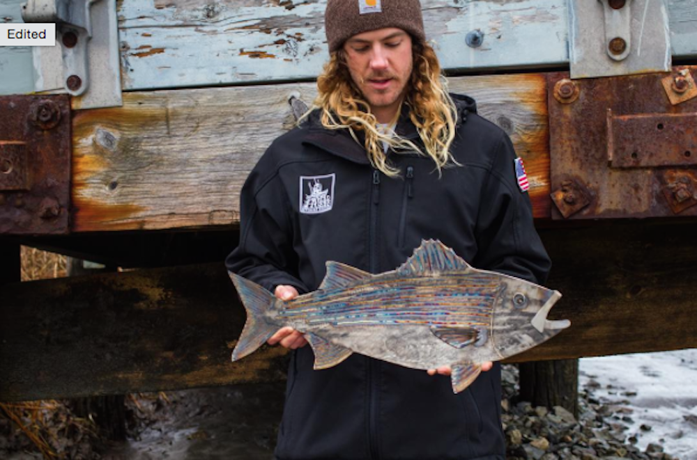 Two Anglers Just Won Some Killer Metal Fish Art