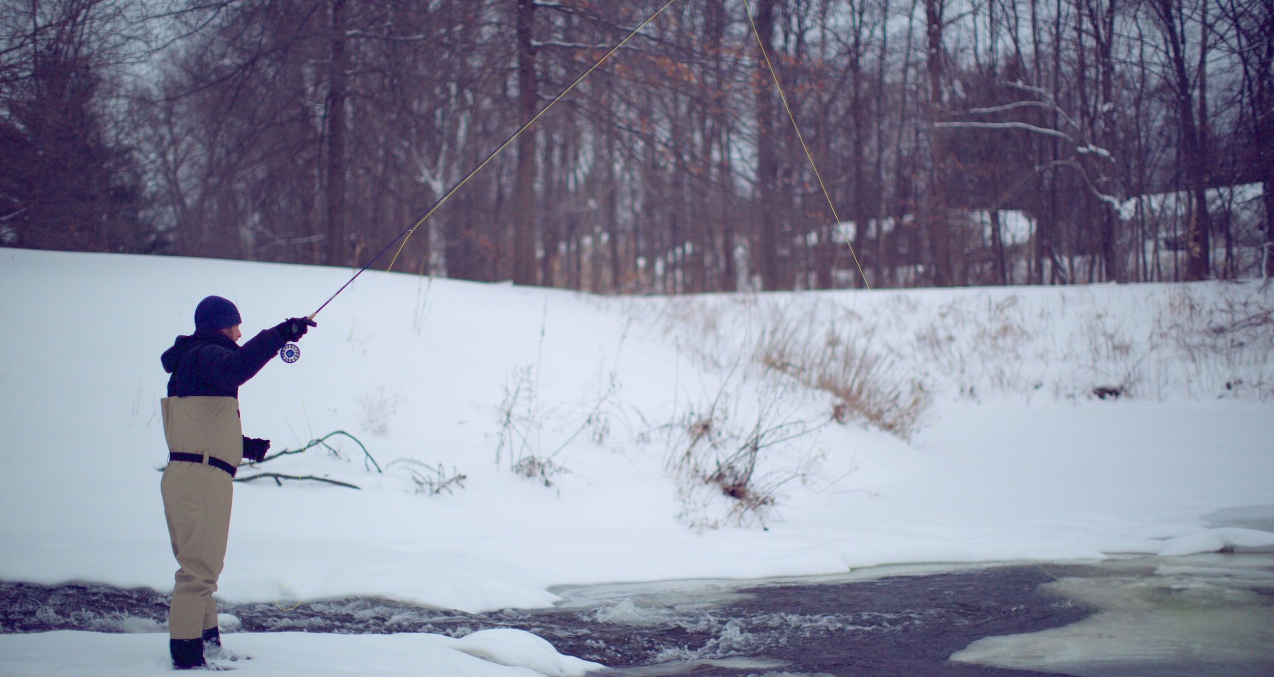 Winter Fly Fishing Tips: How to Deal with Ice in your Guides