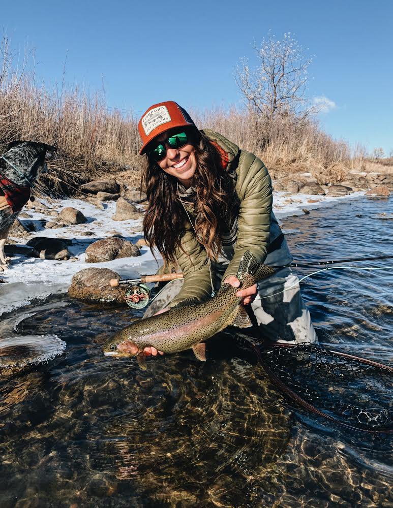 Winter Fly Fishing with Shyanne Orvis